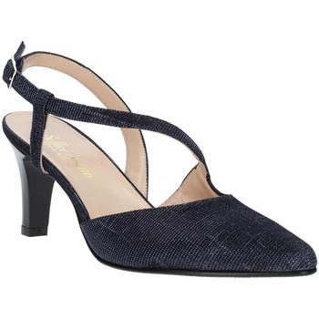 Sapatos Mulher Escarpim Soffice Sogno E9360 Azul