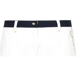Textil Mulher Shorts / Bermudas Emporio Armani EA7 3GTS02 TN29Z Branco
