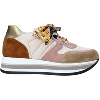 Sapatos Mulher Sapatilhas Triver Flight 232-07E Rosa