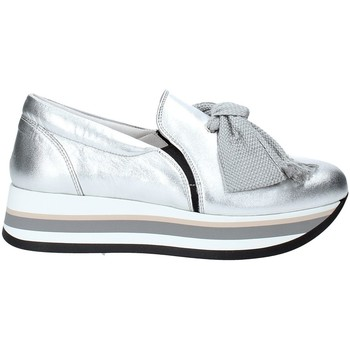 Sapatos Mulher Slip on Triver Flight 232-09 Prata