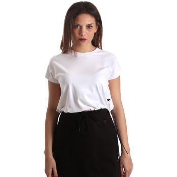 Textil Mulher T-Shirt mangas curtas Champion 111487 Branco