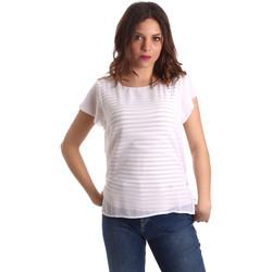 Textil Mulher Tops / Blusas NeroGiardini P962470D Branco