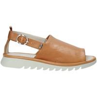 Sapatos Mulher Sandálias Valleverde 41151 Castanho