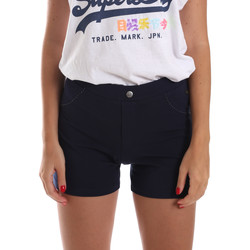 Textil Mulher Shorts / Bermudas Key Up 5L79G 0001 Azul