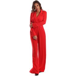 Textil Mulher Macacões/ Jardineiras Byblos Blu 2WD0010 TE0012 Vermelho