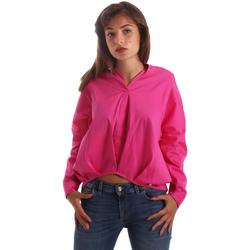 Textil Mulher camisas Byblos Blu 2WR0004 TE0014 Rosa