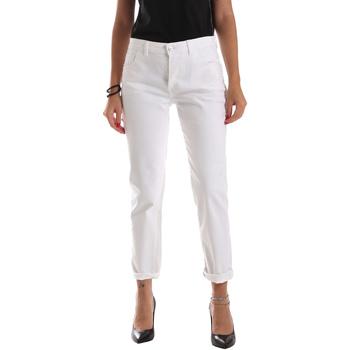 Textil Mulher Calças de ganga slim Byblos Blu 2WJ0011 TE0128 Branco
