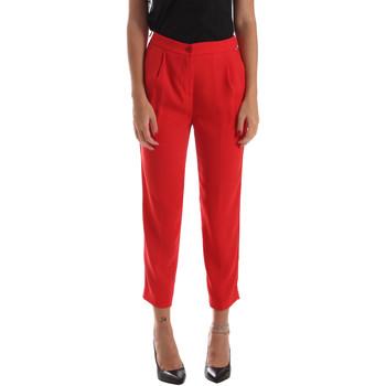 Textil Mulher Chinos Byblos Blu 2WP0002 TE0012 Vermelho