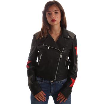 Textil Mulher Casacos de couro/imitação couro Byblos Blu 2WS0002 LE0007 Preto