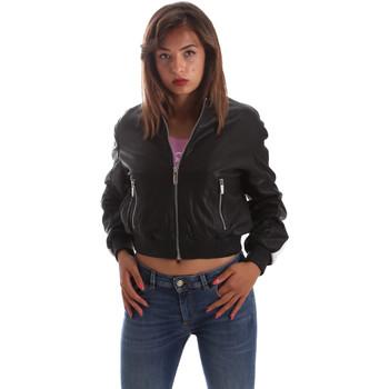 Textil Mulher Casacos de couro/imitação couro Byblos Blu 2WS0004 LE0009 Preto