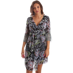 Textil Mulher Vestidos curtos Smash S1984413 Preto