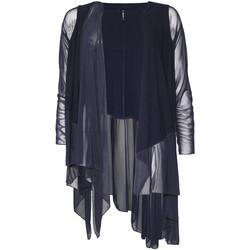 Textil Mulher Casacos de malha Smash S1953411 Azul