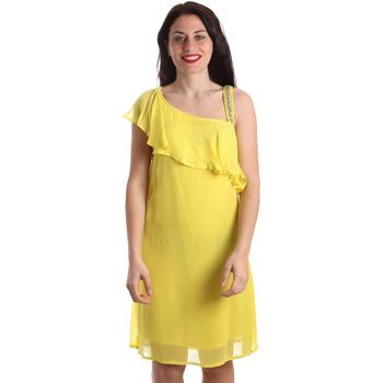Textil Mulher Vestidos curtos Gaudi 911FD15011 Amarelo
