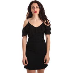 Textil Mulher Vestidos curtos Gaudi 911FD15049 Preto
