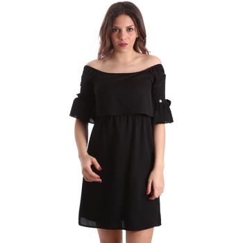 Textil Mulher Vestidos curtos Gaudi 911BD15015 Preto