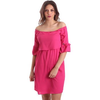 Textil Mulher Vestidos curtos Gaudi 911BD15015 Rosa