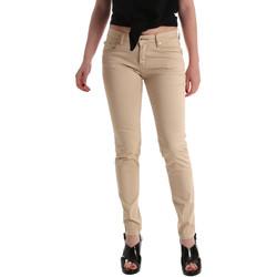 Textil Mulher Gangas Skinny Gaudi 911BD25010 Bege