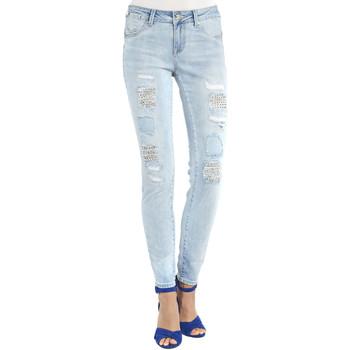 Textil Mulher Gangas boyfriend Gaudi 911BD26013 Azul