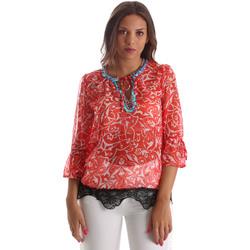 Textil Mulher Tops / Blusas Gaudi 911BD45013 Vermelho