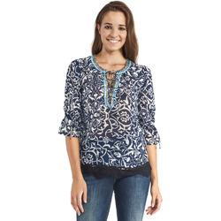 Textil Mulher Tops / Blusas Gaudi 911BD45013 Azul