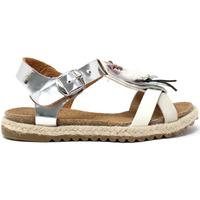 Sapatos Rapariga Sandálias Miss Sixty S19-SMS586 Prata
