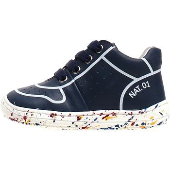 Sapatos Criança Sapatilhas de cano-alto Naturino 2013460-01-1C69 Azul