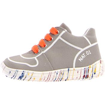 Sapatos Criança Sapatilhas Naturino 2013463-03-0B03 Cinzento