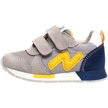 Sapatos Criança Sapatilhas Naturino 2013755-02-1B55 Cinzento