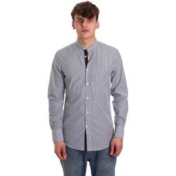 Textil Homem Camisas mangas comprida Antony Morato MMSL00588 FA420042 Azul