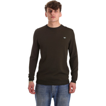 Textil Homem camisolas Antony Morato MMSW01066 YA500057 Verde