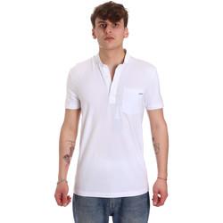 Textil Homem Polos mangas curta Antony Morato MMKS01741 FA120022 Branco