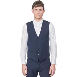 Textil Homem Casacos de malha Antony Morato MMVE00087 FA650176 Azul