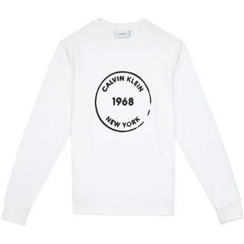 Textil Homem Sweats Calvin Klein Jeans K10K104548 Branco