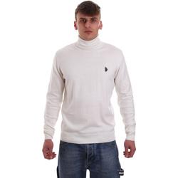 Textil Homem camisolas U.S Polo Assn. 52484 48847 Branco