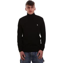 Textil Homem camisolas U.S Polo Assn. 52484 48847 Preto