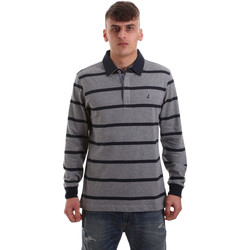 Textil Homem Polos mangas compridas Navigare NV30027 Cinzento
