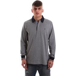Textil Homem Polos mangas compridas Navigare NV32023 Cinzento
