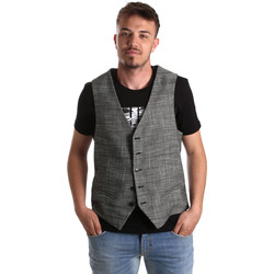 Textil Homem Casacos de malha Gaudi 921FU35035 Cinzento