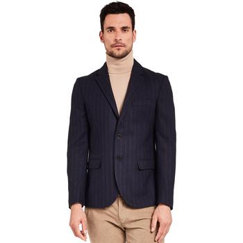 Textil Homem Casacos/Blazers Gaudi 921FU35057 Azul