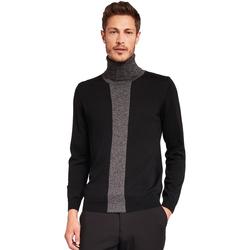 Textil Homem camisolas Gaudi 921FU53008 Preto
