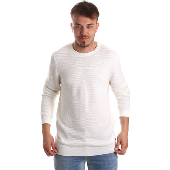 Textil Homem camisolas Gaudi 921FU53020 Branco