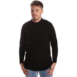 Textil Homem camisolas Gaudi 921FU53025 Preto