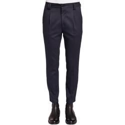 Textil Homem Calças Gaudi 921FU25024 Azul