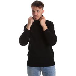 Textil Homem camisolas Gaudi 921FU53048 Preto