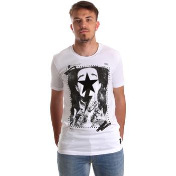 Textil Homem T-Shirt mangas curtas Gaudi 921FU64002 Branco