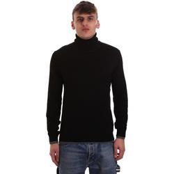 Textil Homem camisolas Gaudi 921BU53040 Preto
