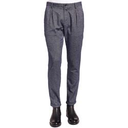 Textil Homem Calças Gaudi 921BU25018 Azul