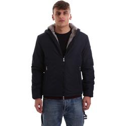 Textil Homem Casacos fato de treino Gaudi 921BU35006 Azul