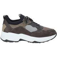 Sapatos Homem Sapatilhas NeroGiardini A901272U Cinzento