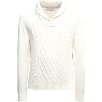 Textil Homem camisolas NeroGiardini A974530U Branco
